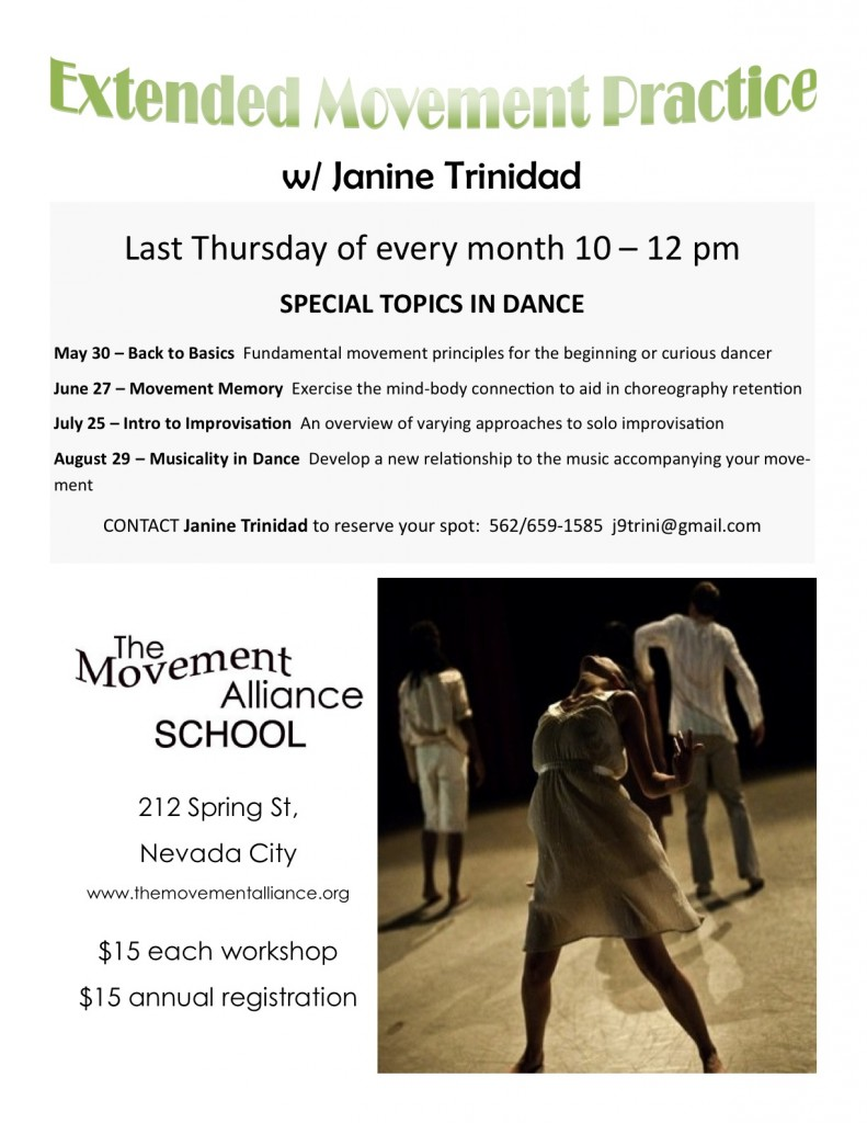 Workshop Flyer - Janine